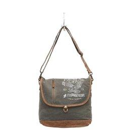 Myra Bags S-0959 Eagle Messenger Bag
