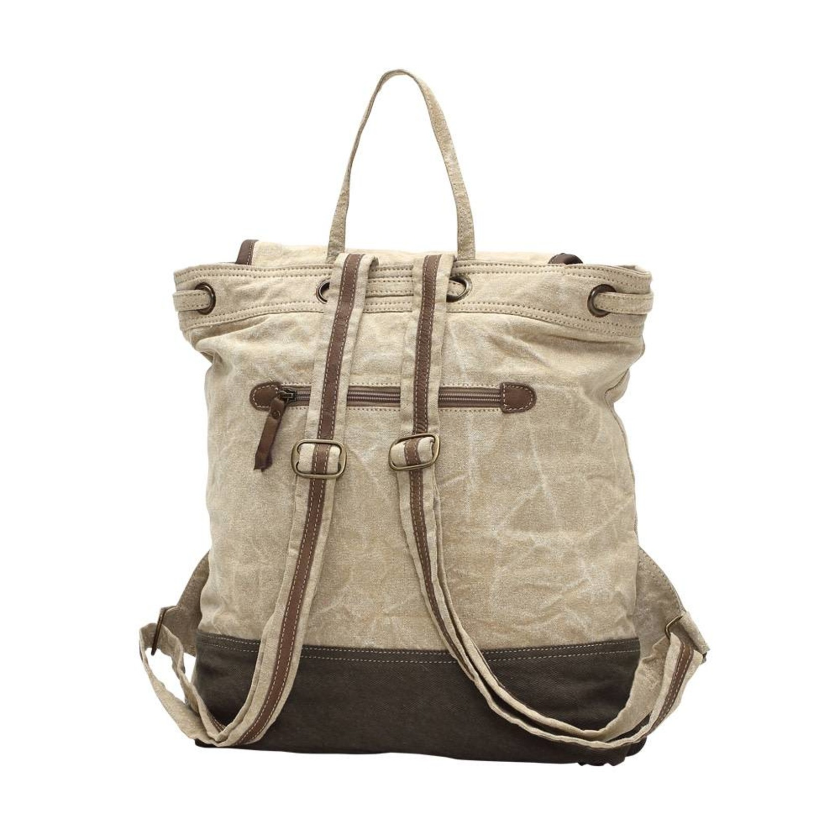 Myra Bags S-1003 Cafes & Legumes Key Backpack