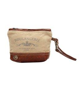 Myra Bags S-1021 Boulangerie Wristlet