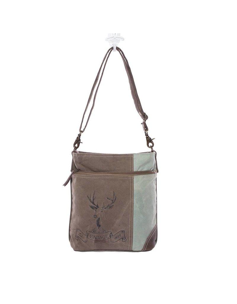 Myra Bags S-1128 Reindeer Print Bag