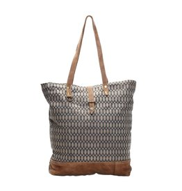 Myra Bags S-1135 Honey Bee Print Tote