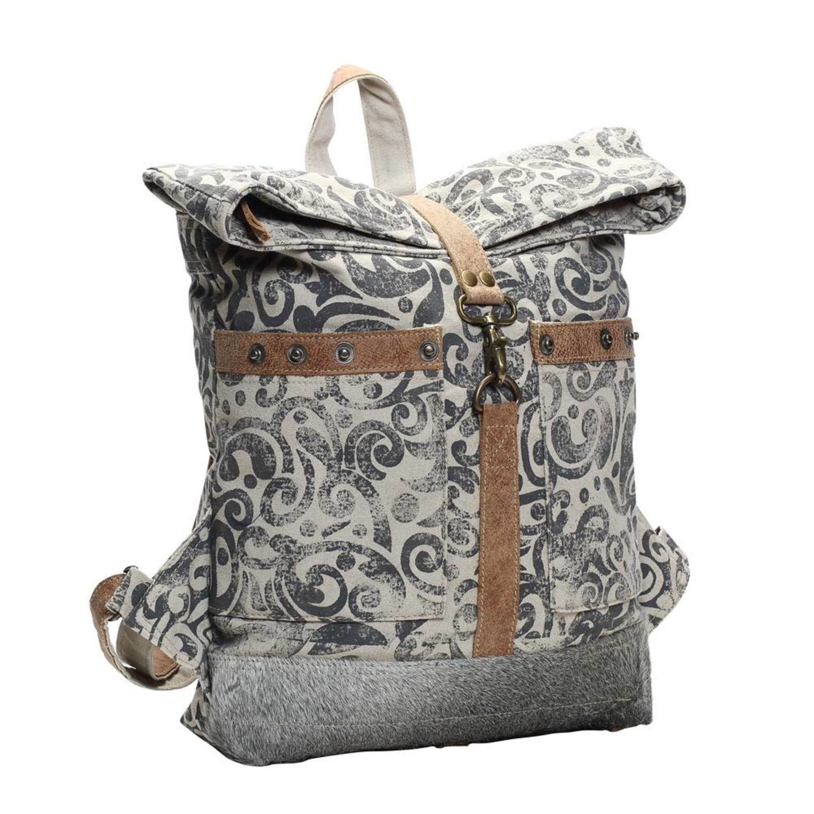 Myra Bags S-1161 Foldover Backpack