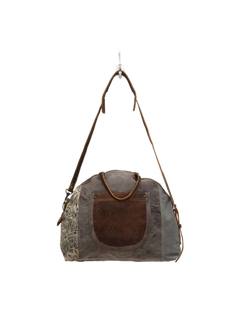 Myra Bags S-0704 Floral Print Bag