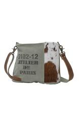 Myra Bags S-0714 Chic Segmented Crossbody