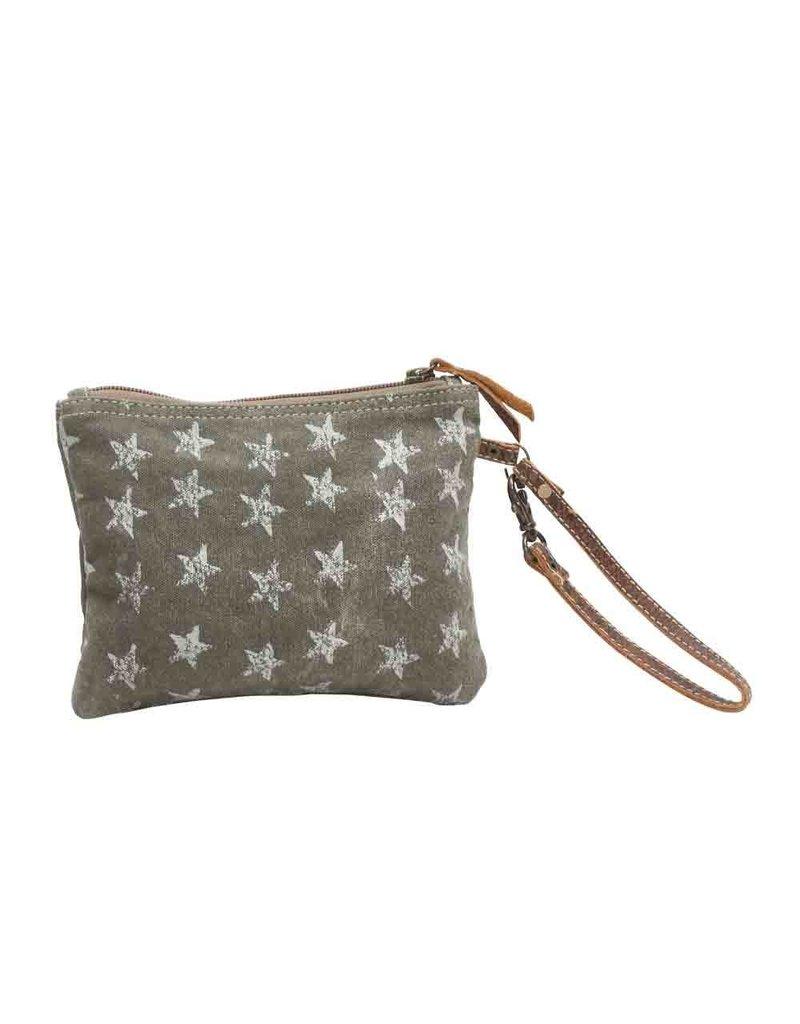 Myra Bags S-0784 Star-Grouped Wristlet