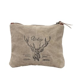 Myra Bags S-0802 Vintage Reindeer Pouch