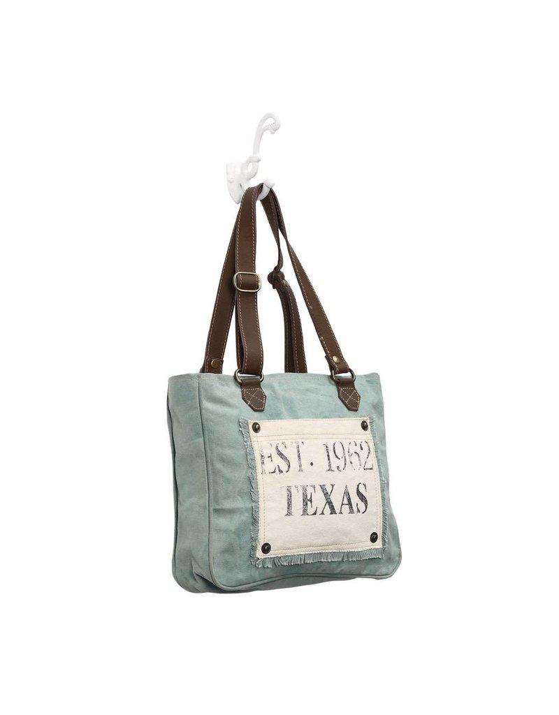Myra Bags S-0885 Turquoise Texas Bag