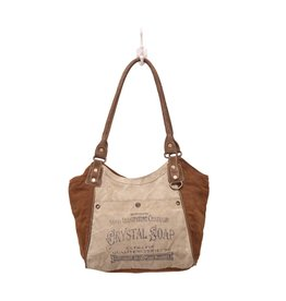 Myra Bags S-0893 Crystal Soap Shoulder Bag