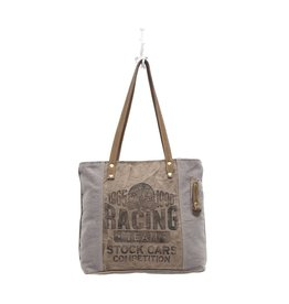 Myra Bags S-0937 Racing Team Canvas Tote