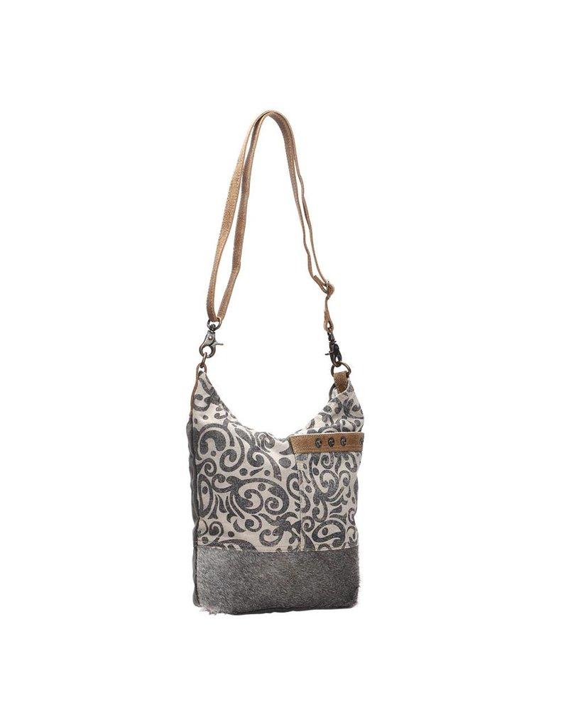Myra Bags S-1126 Floral Print Bag
