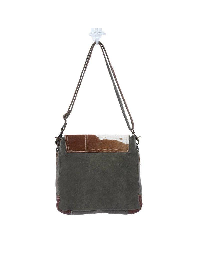 Myra Bags S-1127 Hairon Flap Bag