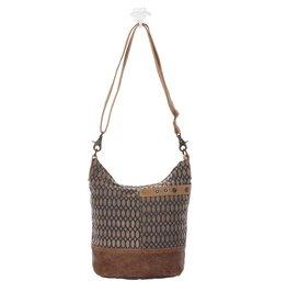 Myra Bags S-1130 Honey Bee Print Shoulder Bag