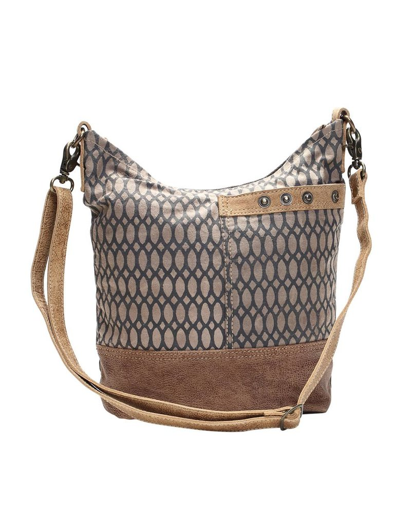Myra Bags S-1130 Honey Bee Print Shoulder Bag