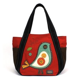 Chala Carryall Zip Tote Bird II