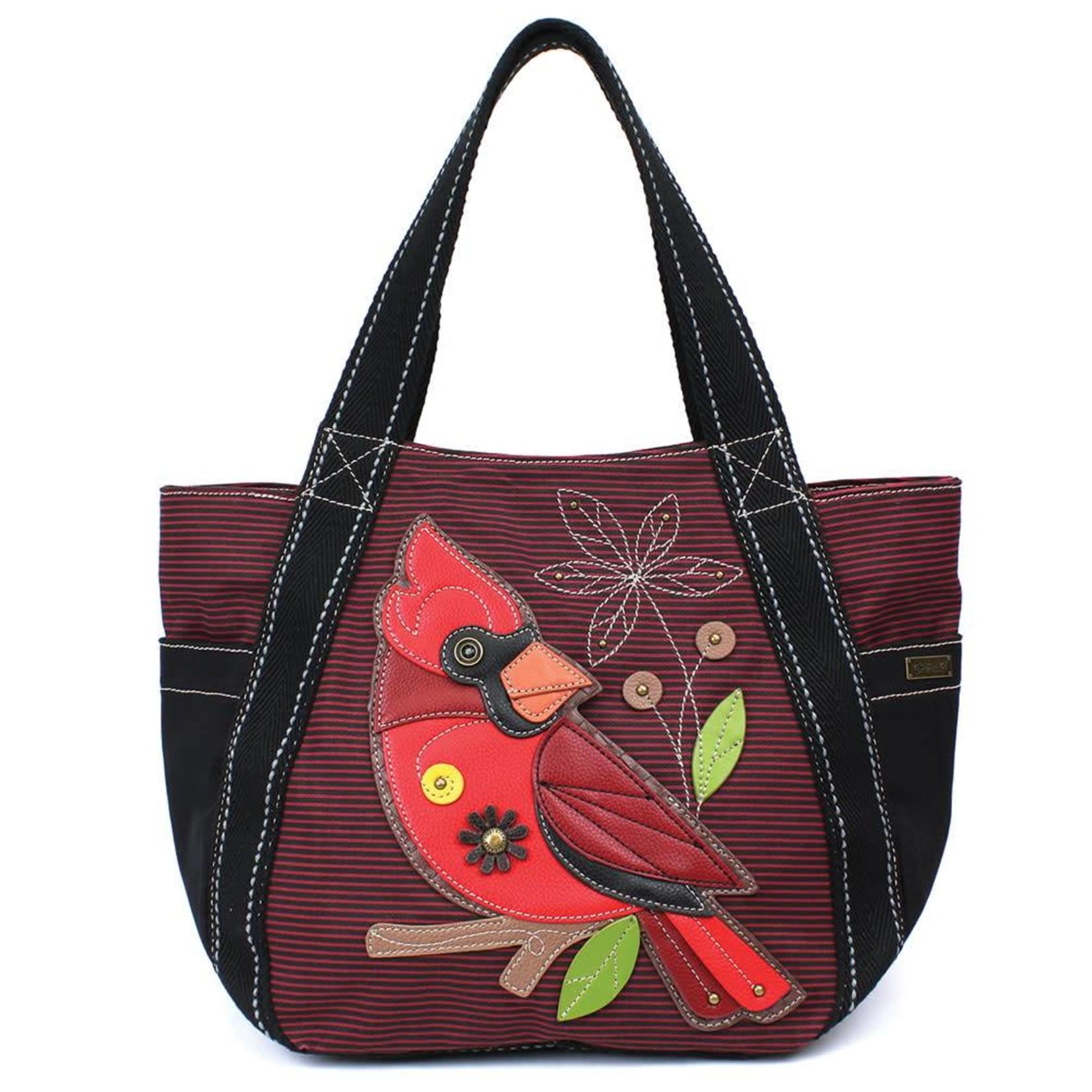Chala Carryall Zip Tote Cardinal