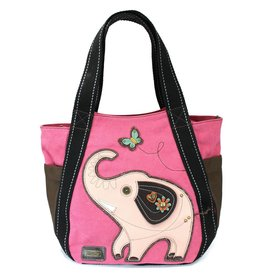 Chala Carryall Zip Tote Elephant