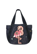 Chala Carryall Zip Tote Flamingo