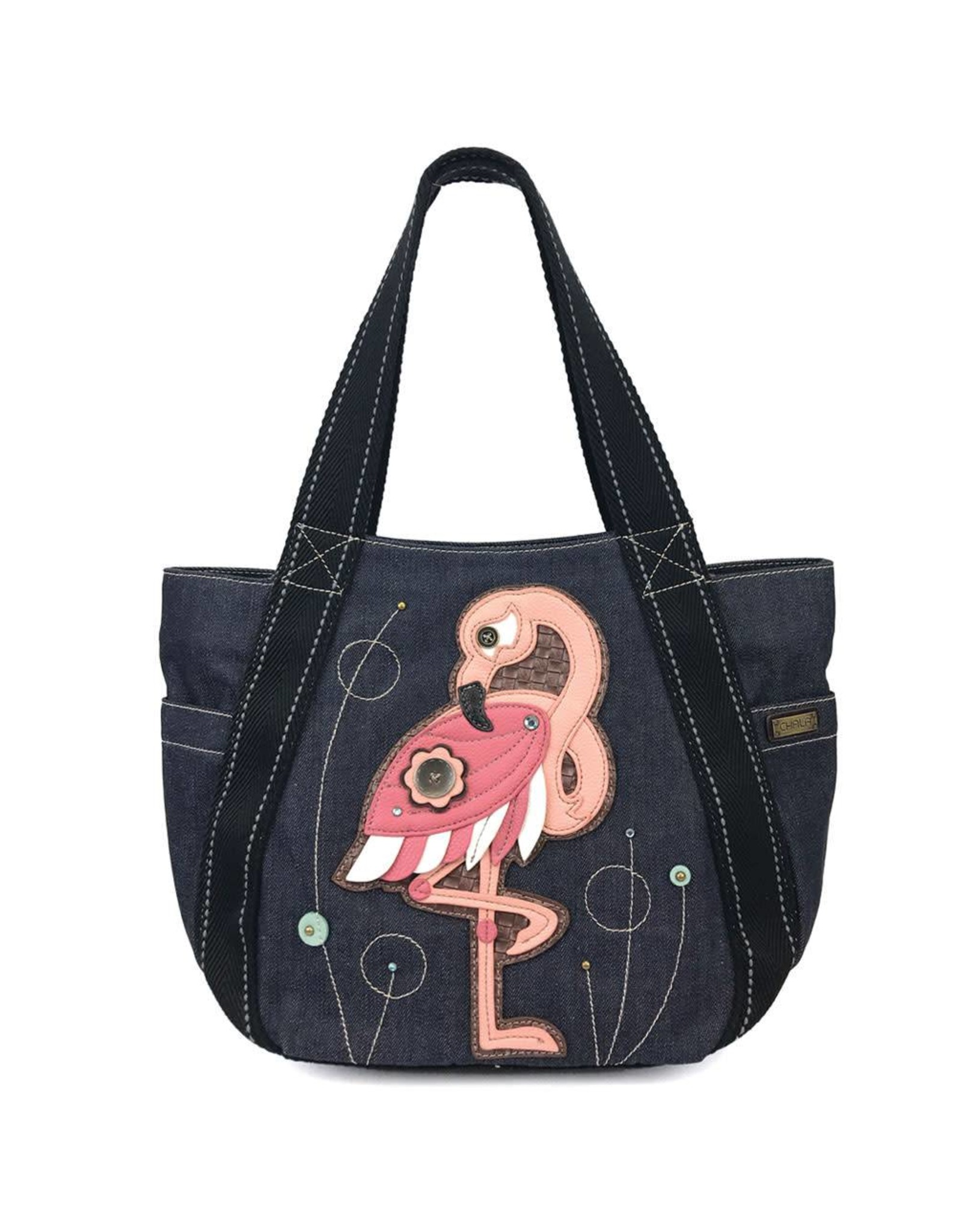Chala Carryall Zip Tote Flamingo