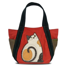 Chala Carryall Zip Tote LaZzy Cat