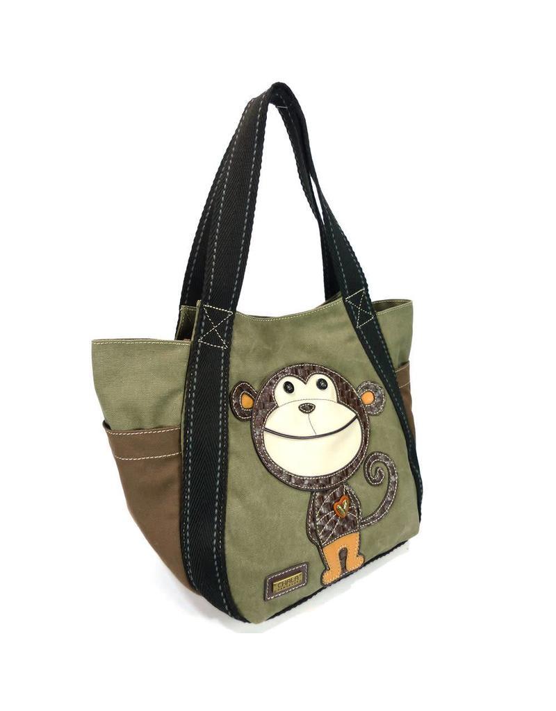 Chala Carryall Zip Tote Smartie Monkey