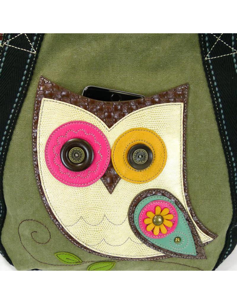 Chala Carryall Zip Tote Owl II