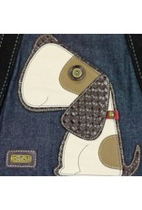 Chala Carryall Zip Tote Toffy Dog