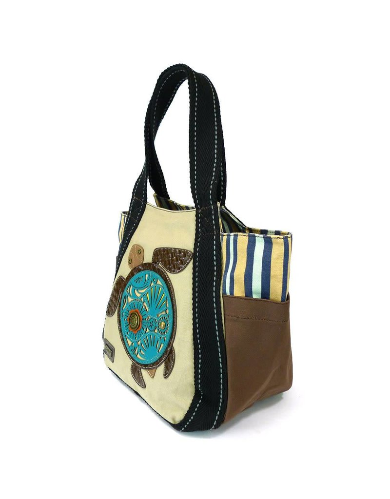 Chala Carryall Zip Tote Turtle