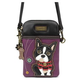 Chala Cell Phone Crossbody Boston Terrier