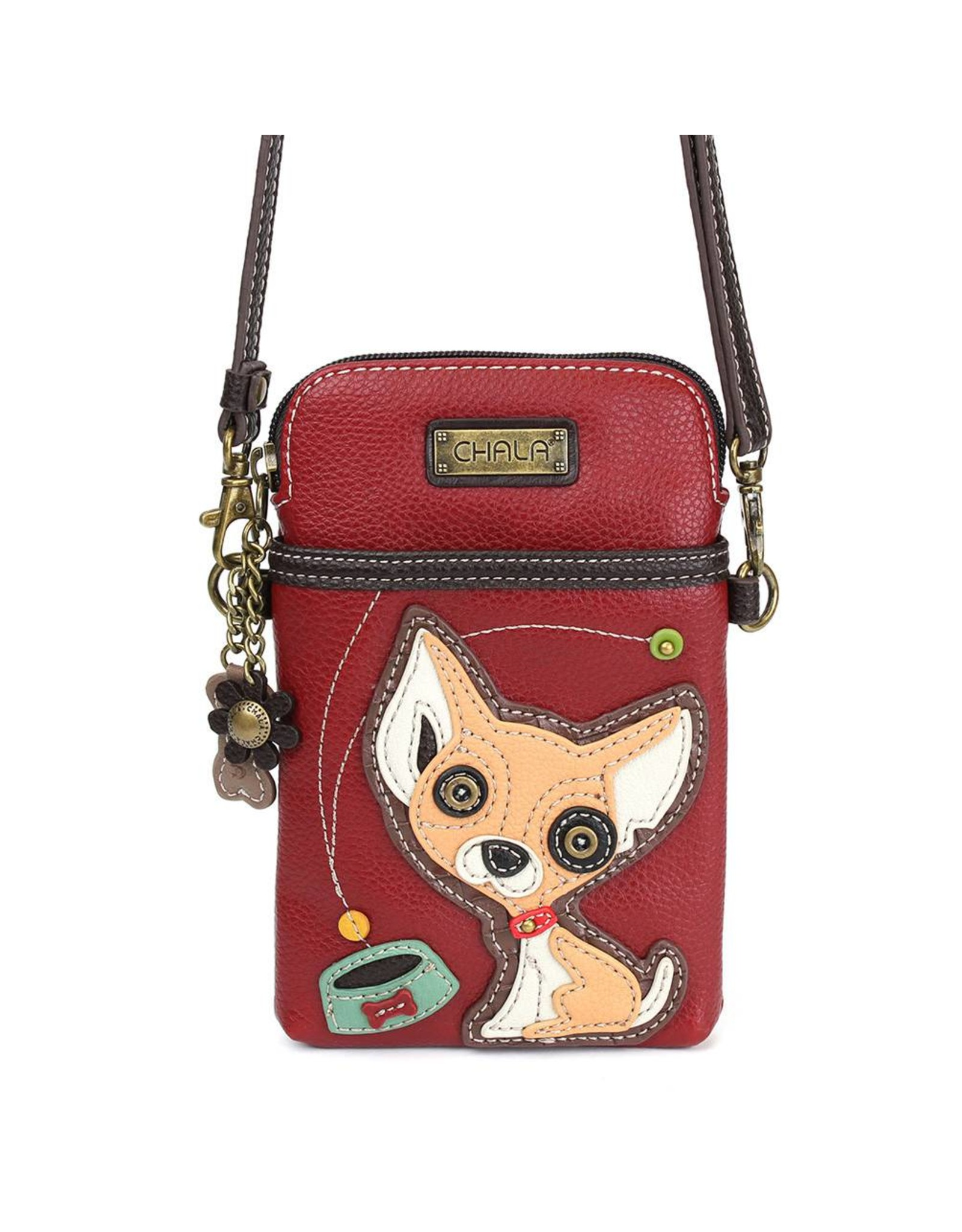 Chala Cell Phone Crossbody Chihuahua