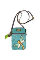 Chala Cell Phone Crossbody Dragonfly Turquoise