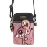 Chala Cell Phone Crossbody Flamingo