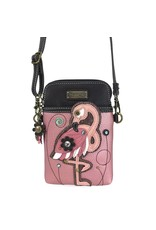 Chala Cell Phone Crossbody Flamingo