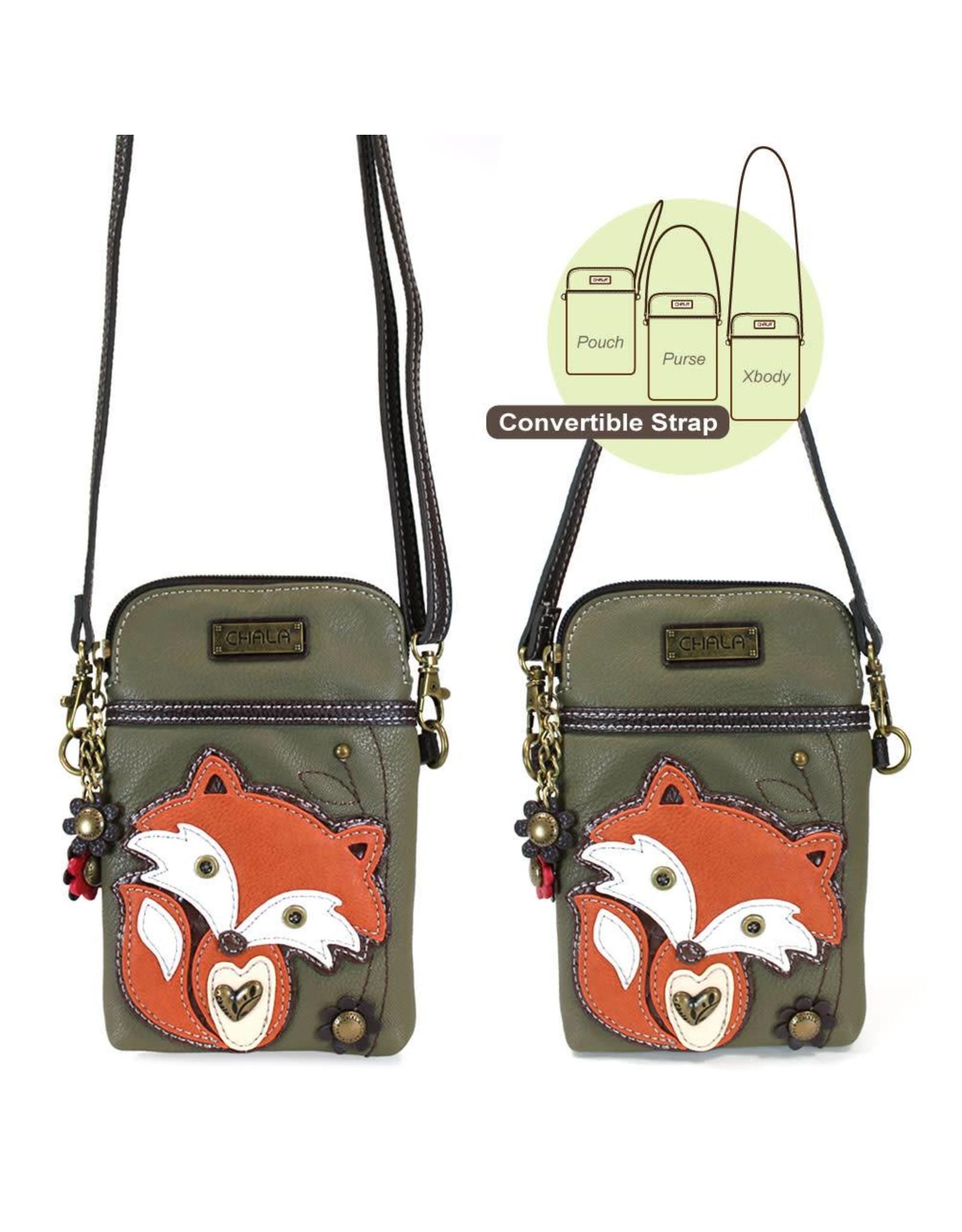 Chala Cell Phone Crossbody Fox