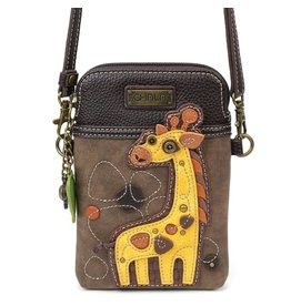 Chala Cell Phone Crossbody Giraffe