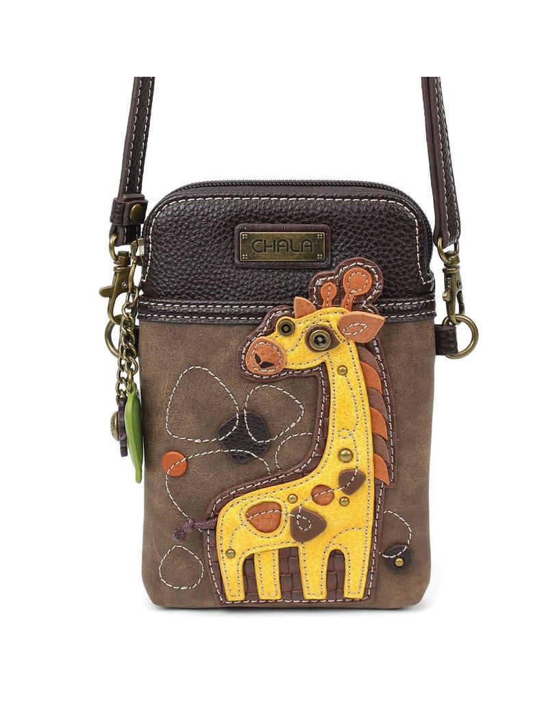 Chala Cell Phone Crossbody Giraffe