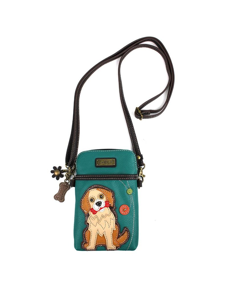 Chala Cell Phone Crossbody Golden Retriever