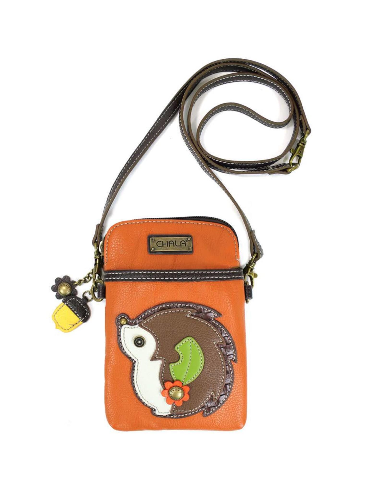 Chala Cell Phone Crossbody Hedgehog