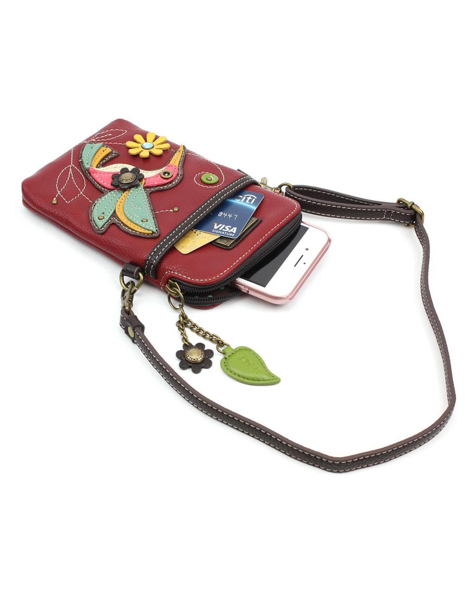Chala Cell Phone Crossbody Hummingbird