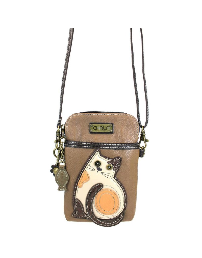 Chala Cell Phone Crossbody LaZzy Cat