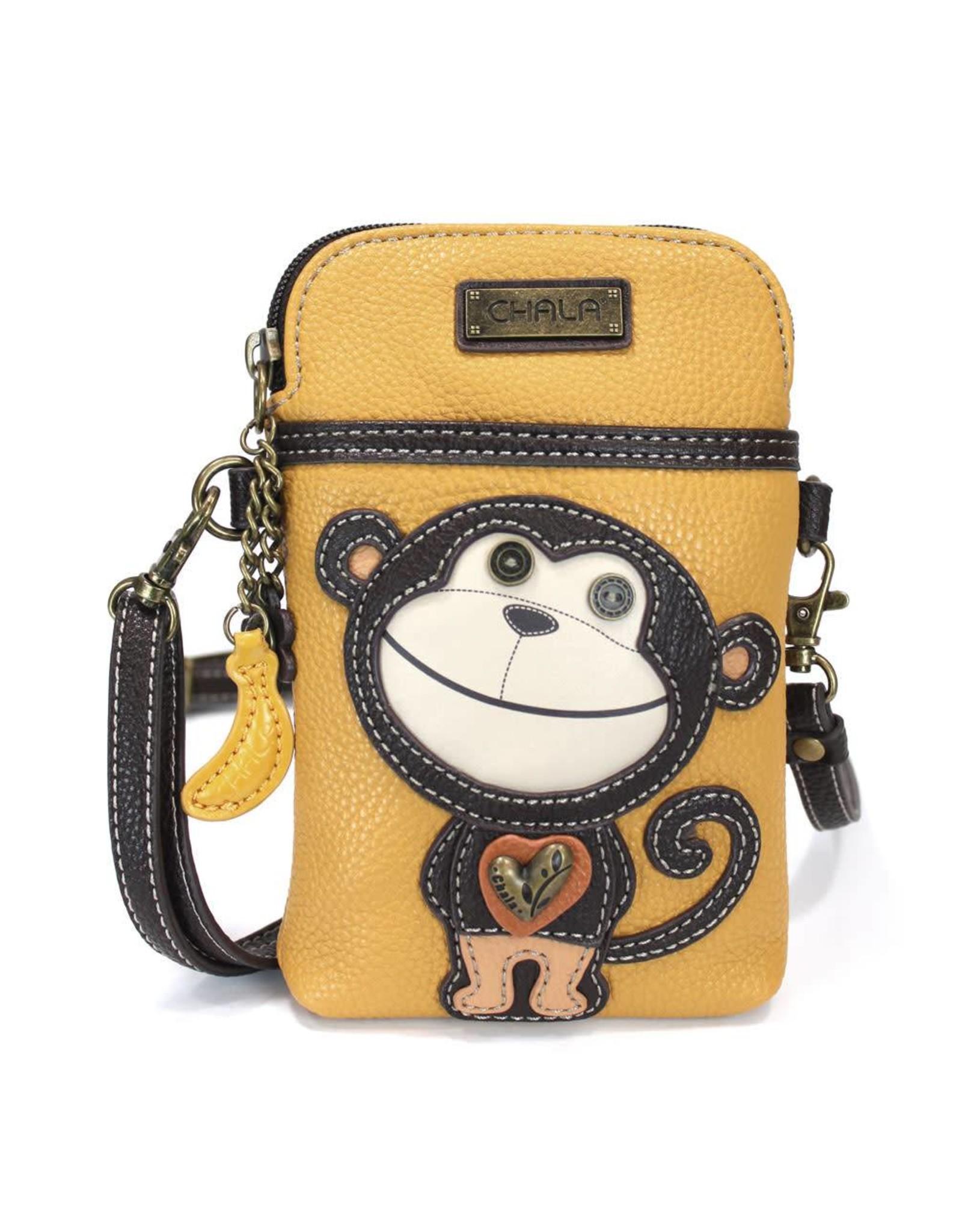 Chala Cell Phone Crossbody Smartie Monkey