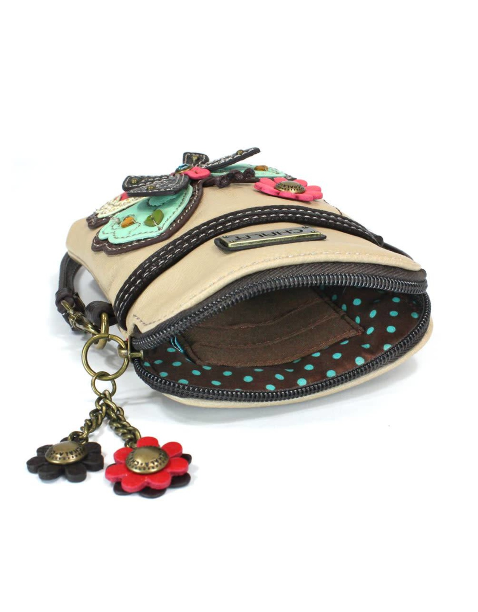 Chala Cell Phone Crossbody New Butterfly Ivory