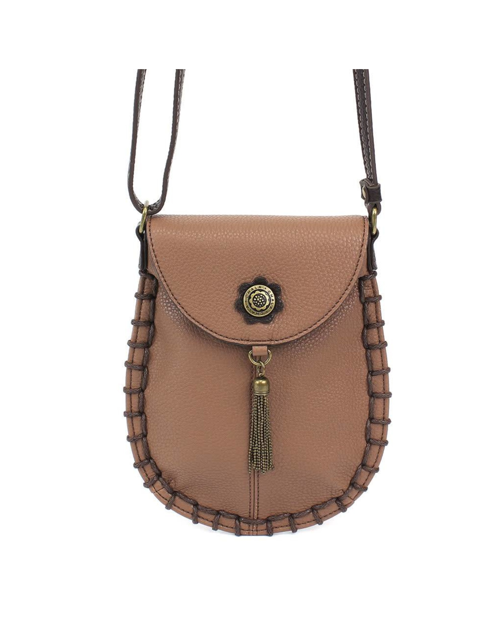 Chala Charming Cell Phone Crossbody Brown
