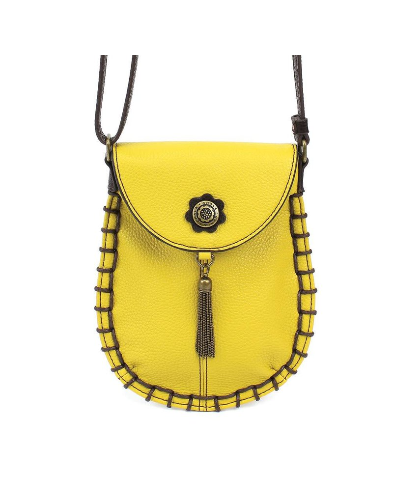 Chala Charming Cell Phone Crossbody Mustard