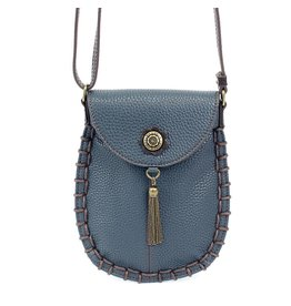 Chala Charming Cell Phone Crossbody Navy