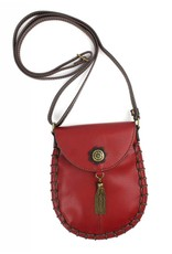Chala Charming Cell Phone Crossbody Burgundy