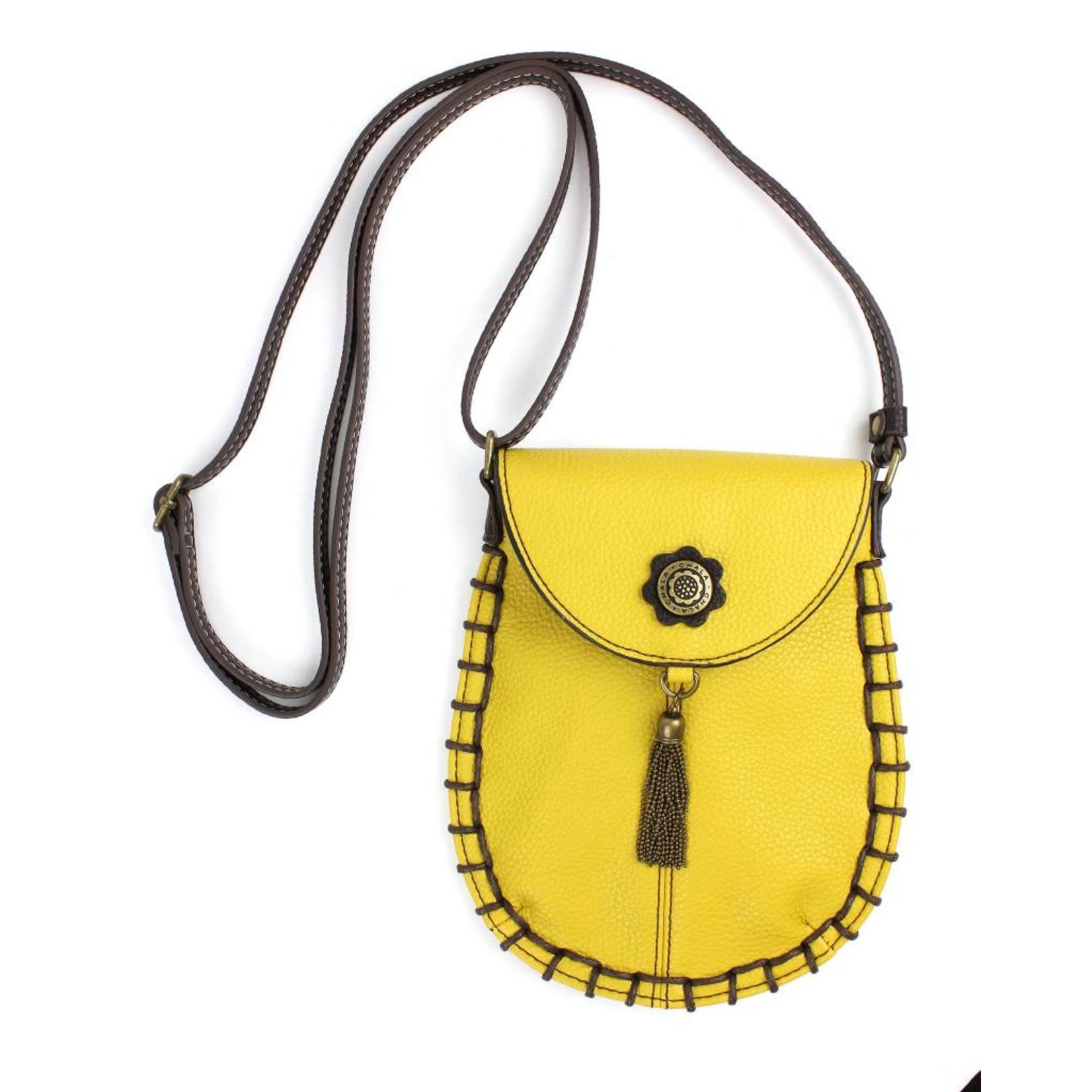 Chala Charming Cell Phone Crossbody Mustard