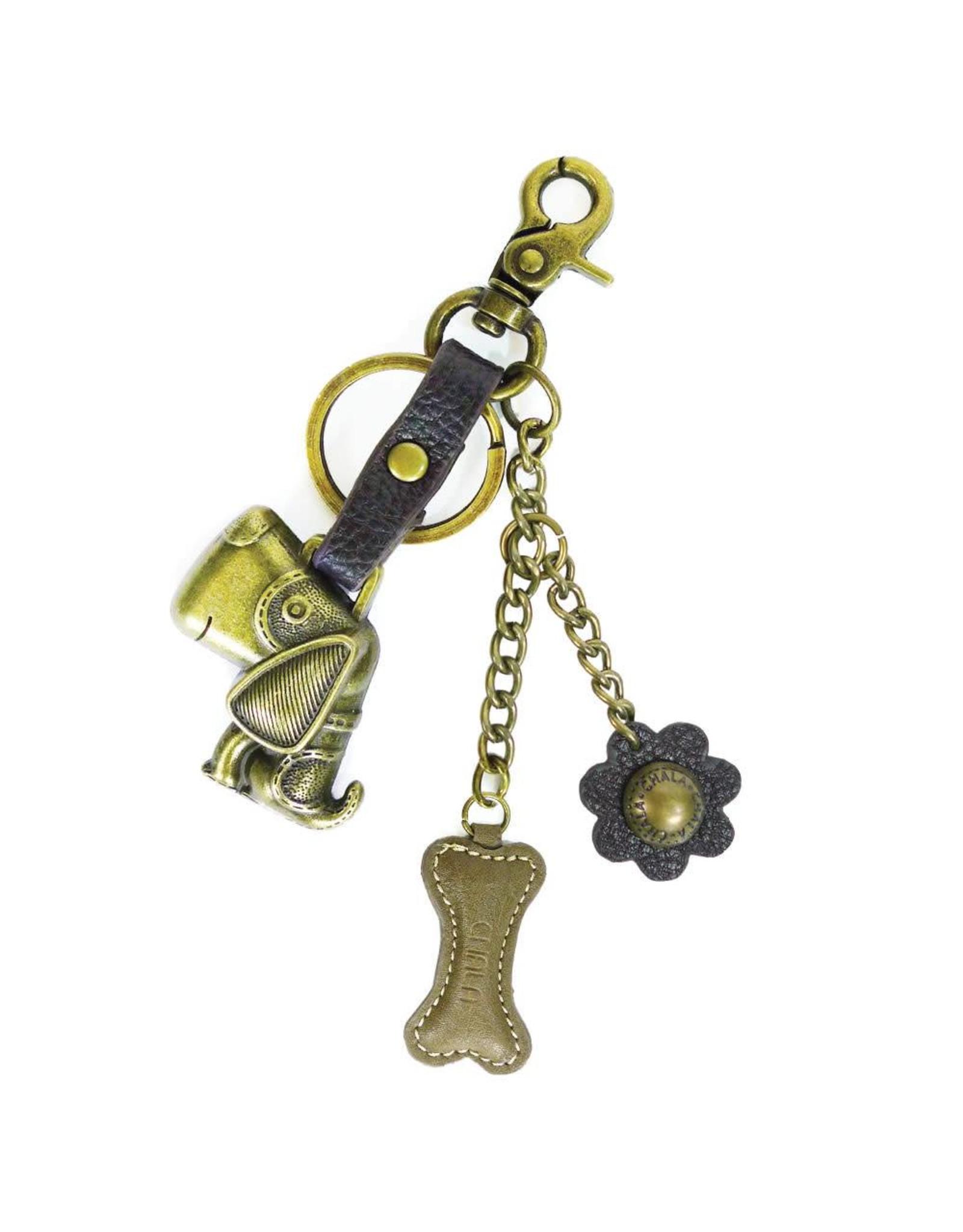 Chala Charming Key Chain Dog