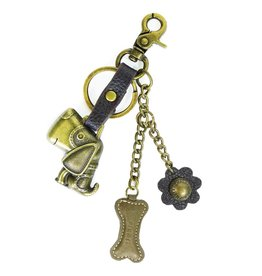 Chala Charming Key Chain Dog