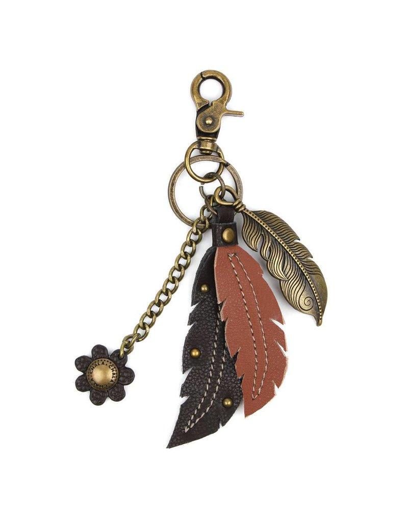 Chala Charming Key Chain Feather