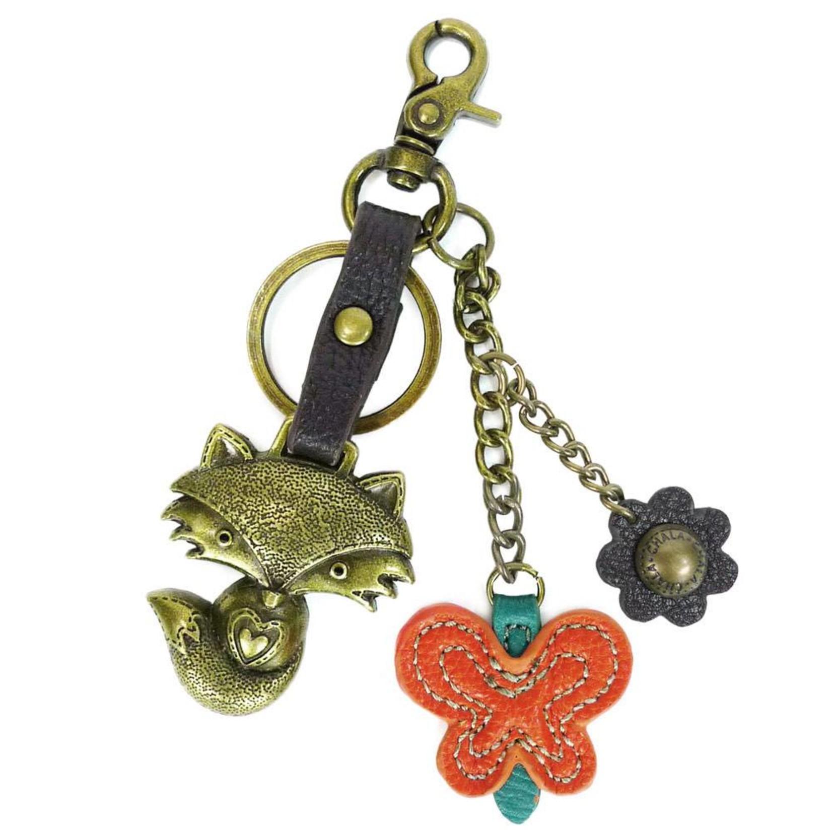 Chala Charming Key Chain Fox